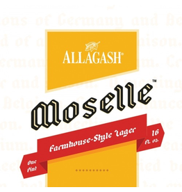 USA Allagash Moselle Farmhouse Lager 4pk
