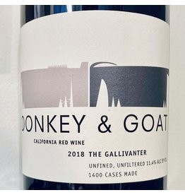 USA 2018 Donkey & Goat The Gallivanter