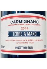 """Italy 2014 Fattoria di Bacchereto Carmignano """"Terre a Mano"""""""