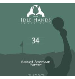 USA Idle Hands 34 Robust Porter 4pk