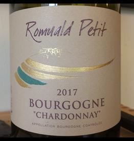 France 2018 Romuald Petit Bourgogne Blanc Chardonnay