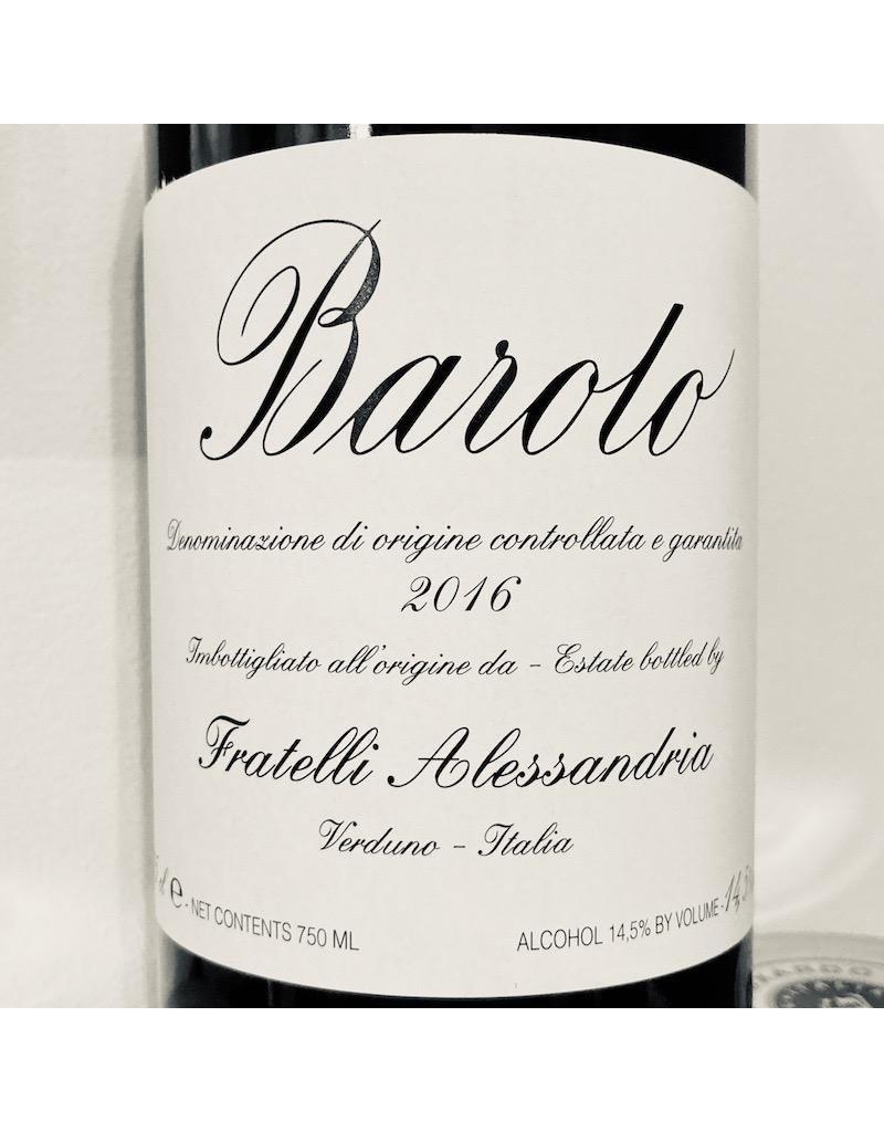 Italy 2016 Fratelli Alessandria Barolo