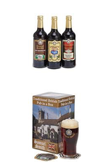 """UK Samuel Smith """"Traditional British Pub in a Box"""" Gift Set"""
