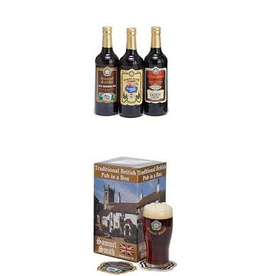 "UK Samuel Smith ""Traditional British Pub in a Box"" Gift Set"