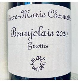 """France 2020 Pierre-Marie Chermette Beaujolais """"Griottes"""" Primeur/Nouveau"""