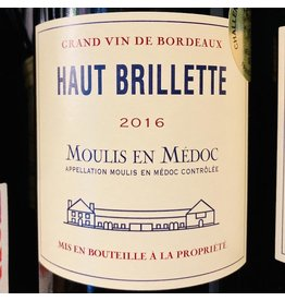 "France 2016 Chateau Brillette ""Haut Brillette"" Moulin en Medoc"