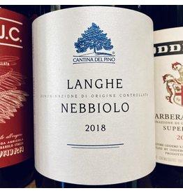 Italy 2018 Cantina del Pino Langhe Nebbiolo