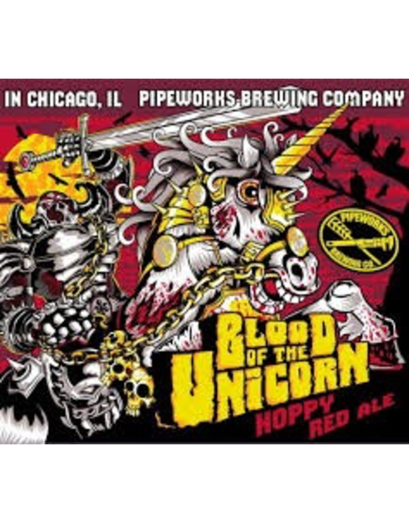 USA Pipeworks Blood Of The Unicorn Hoppy Red 4pk