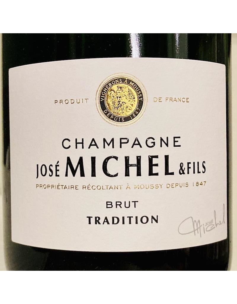France Jose Michel Champagne Brut Tradition 375ml