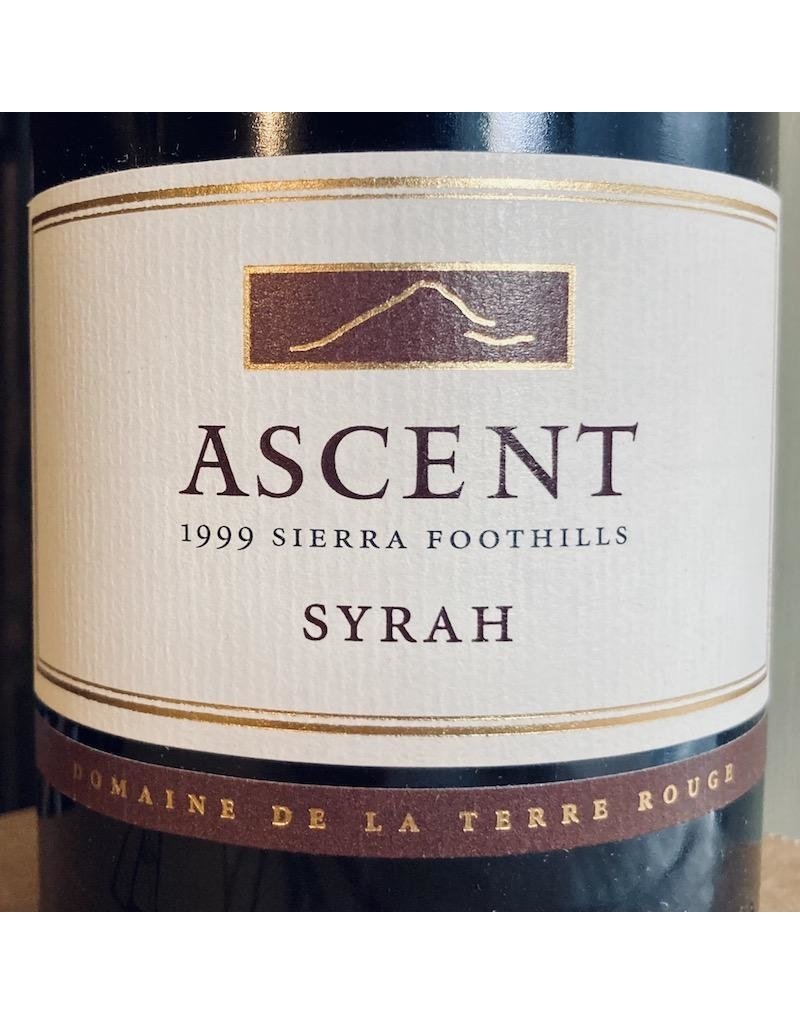 """USA 1999 Domaine de la Terre Rouge """"Ascent"""" Sierra Foothills Syrah"""