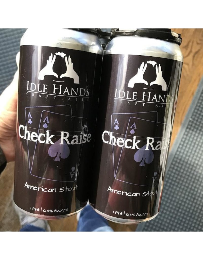 USA Idle Hands Check Raise American Stout 4pk