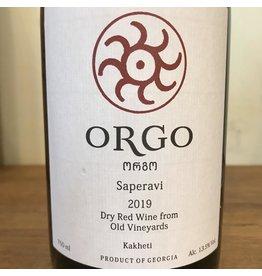 Georgia 2019 Orgo Saperavi