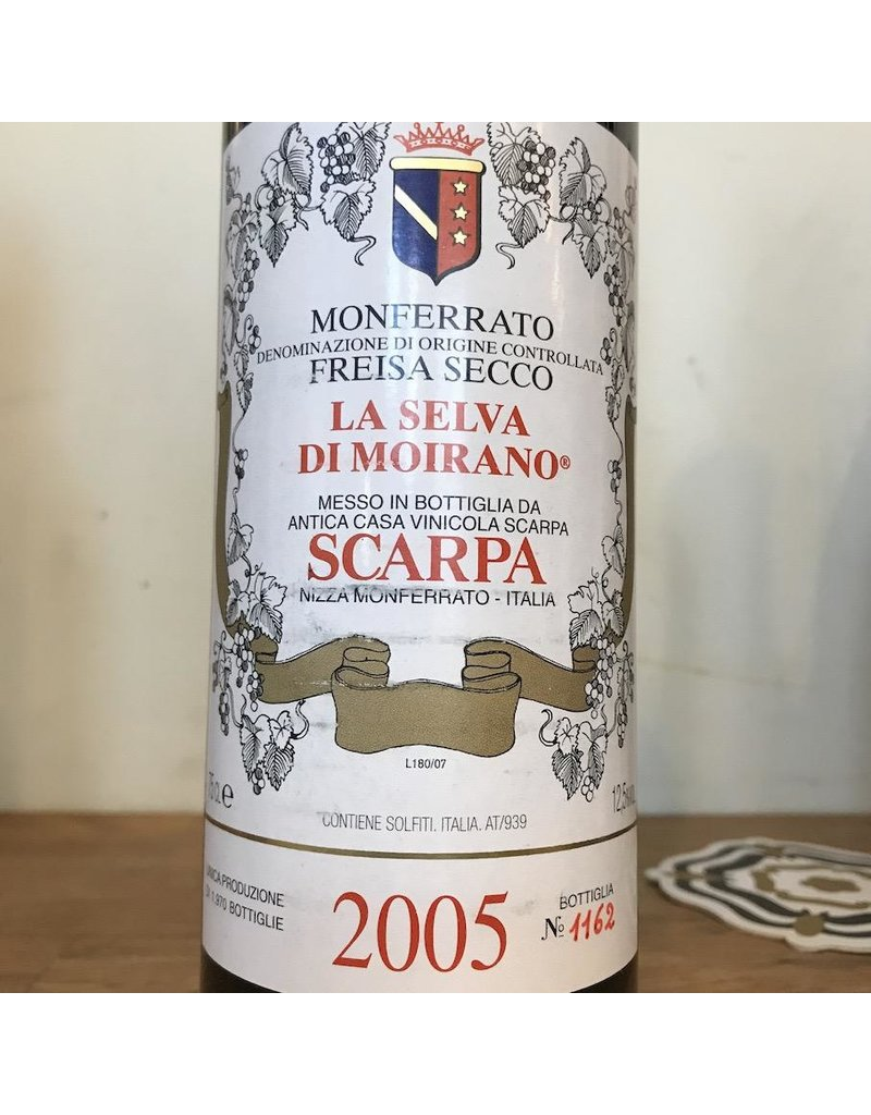 Italy 2005 Scarpa Freisa Secco