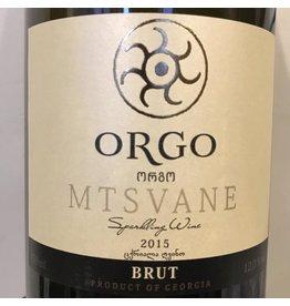 Georgia 2015 Orgo Orgo Sparkling Mtsvane