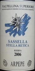 2010 Arpepe Valtellina Superiore Sassella Stella Retica