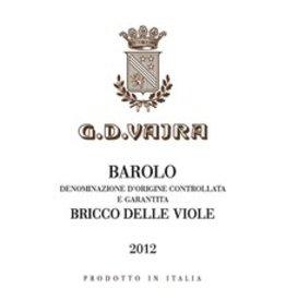 2013 G.D. Vajra Barolo Bricco delle Viole