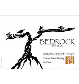 USA 2017 Bedrock Evanghelo Vineyard Heritage Contra Costa County
