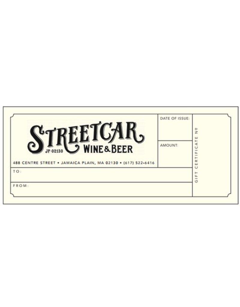 USA $100 Gift Certificate