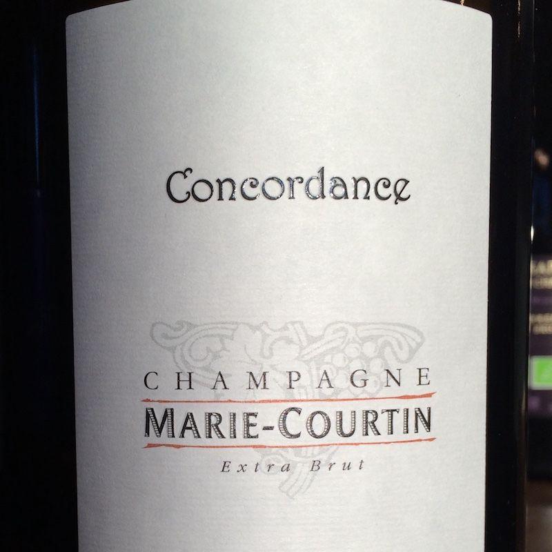 Marie Courtin Champagne Concordance Blanc de Noir