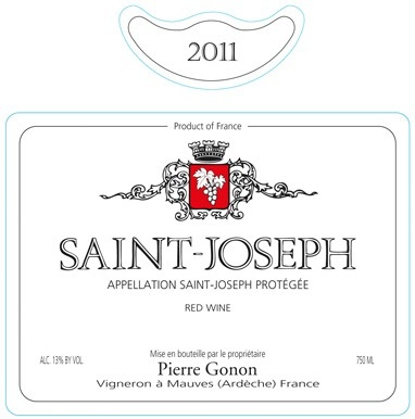 2013 Pierre Gonon Saint Joseph