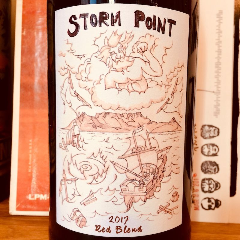 South Africa 2017 Storm Point Red Blend Swartland