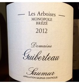 """2014 Guiberteau Saumur Rouge """"Les Arboises"""""""