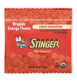 Honey Stinger, Organic, Jujubes energetiques,50g, Frappe au fruits