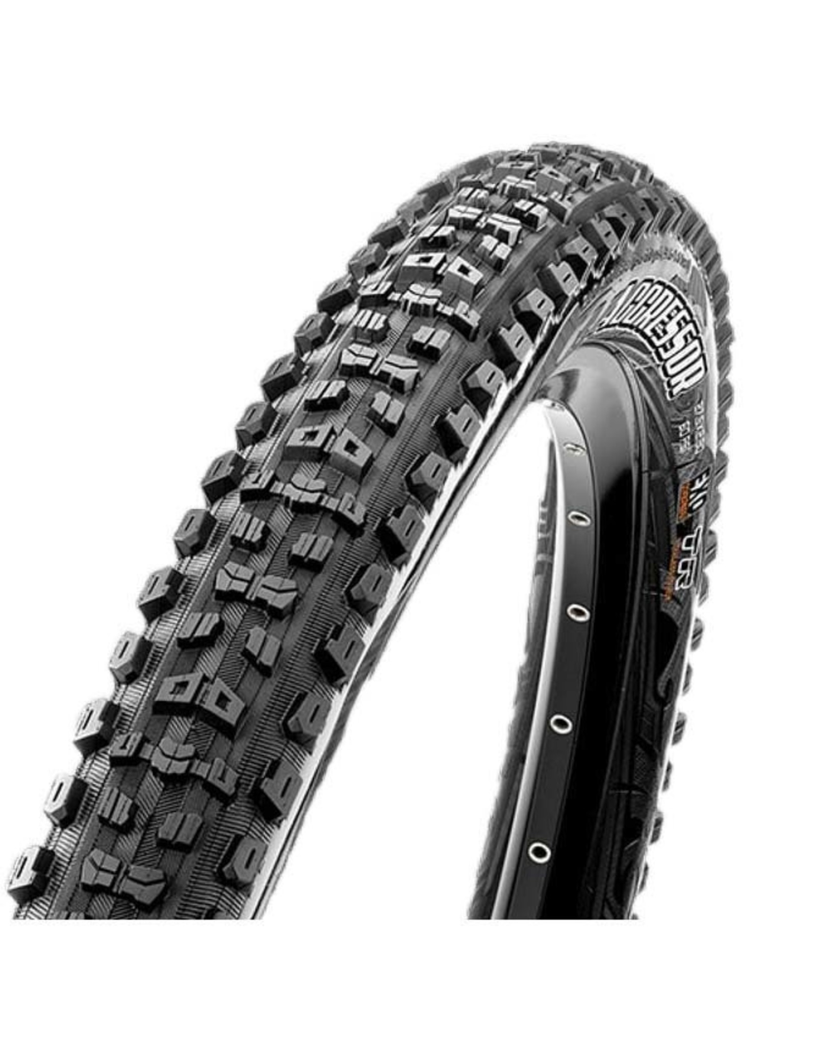 Maxxis Maxxis, Aggressor, Pneu, 29''x2.50, Pliable, Tubeless Ready, Dual, EXO, Wide Trail, 60TPI, Noir