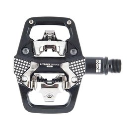 Look, X-Track En-Rage +, MTB Clipless Pedals, Aluminum body, Cr-Mo axle, 9/16'', Black