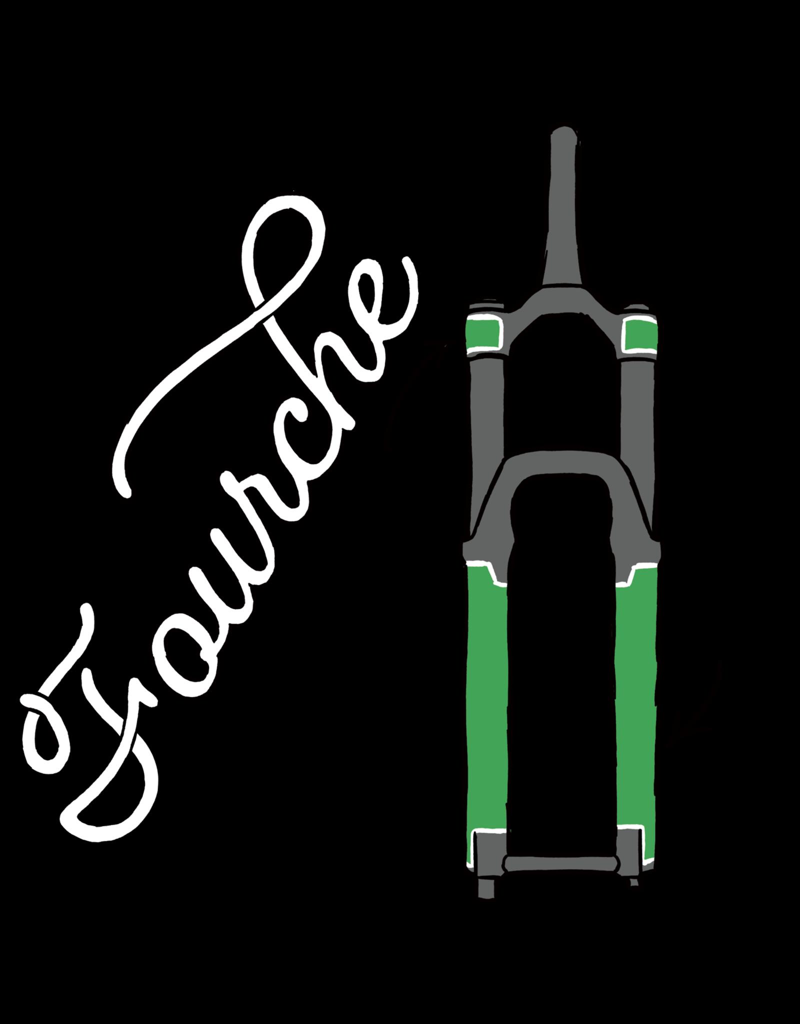 Bikeshield Protection Bikeshield Protection, Fourche MTB, mat