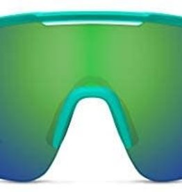 Smith LUNETTES Smith Ruckus Sunglass: Matte Jade ChromaPop Green Mirror / ChromaPop Low Light Rose Lens