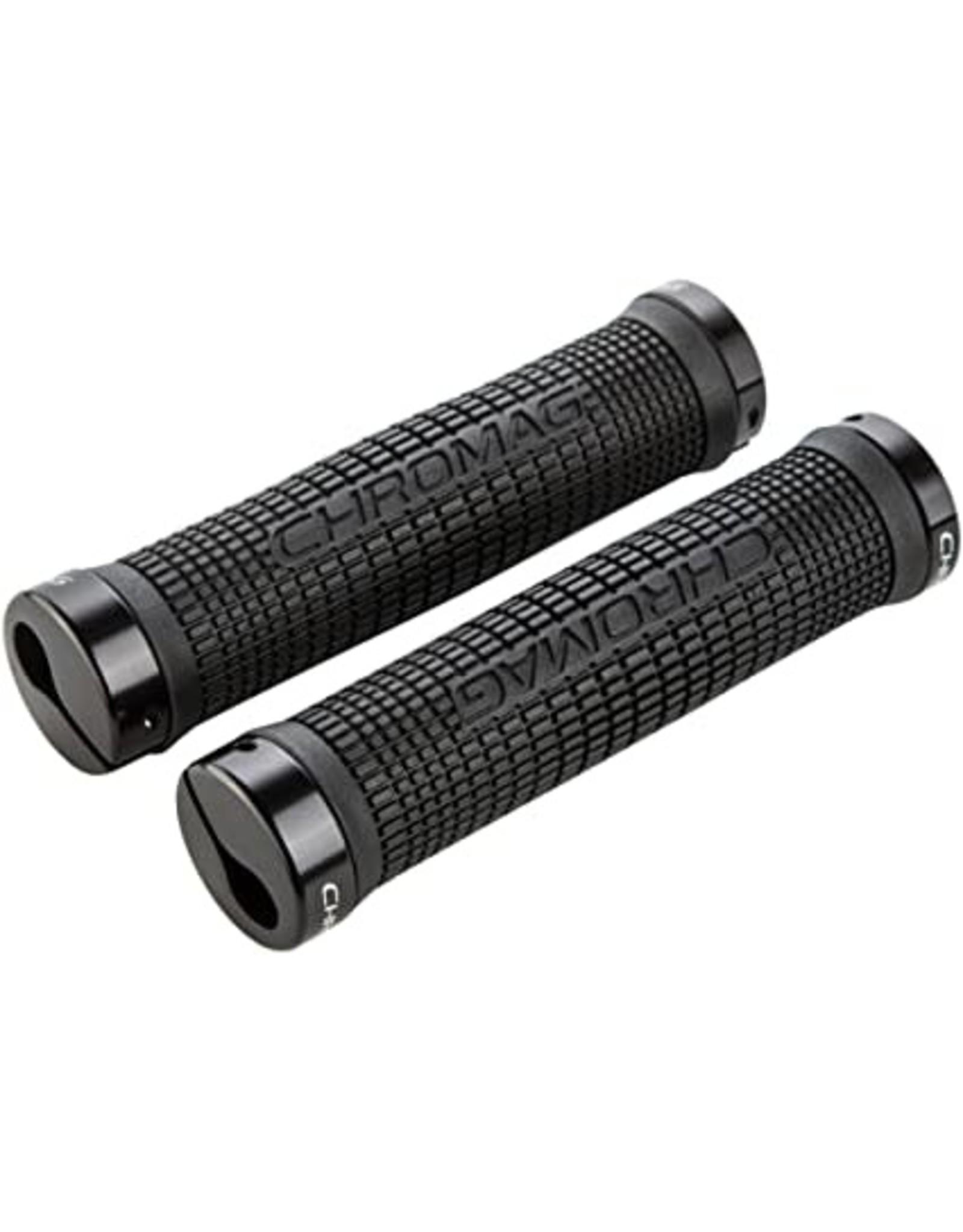 Chromag Grips Squarewave black/black