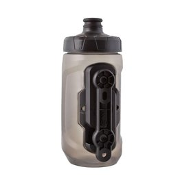 Fidlock BOUTEILLE FIDLOCK 450ML WITH BIKE BASE TRANSPARENT BLACK