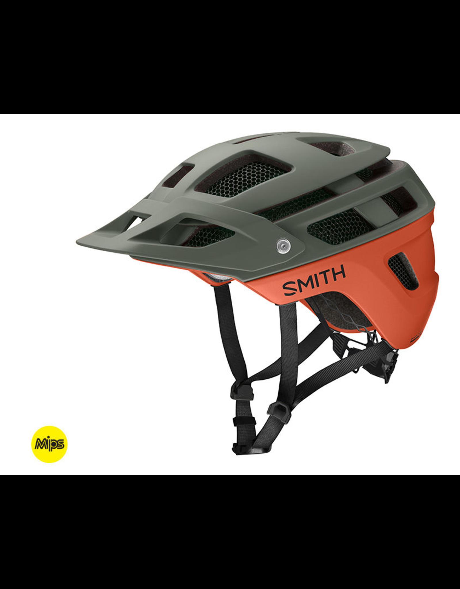 Smith CASQUE Smith Forefront 2 MIPS Matte Sage Redrock Medium