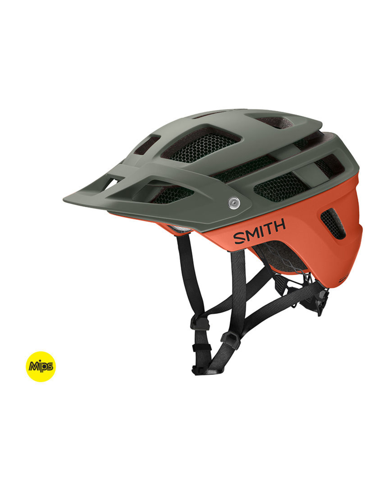 Smith Smith Forefront 2 MIPS Matte Deep Forest Small