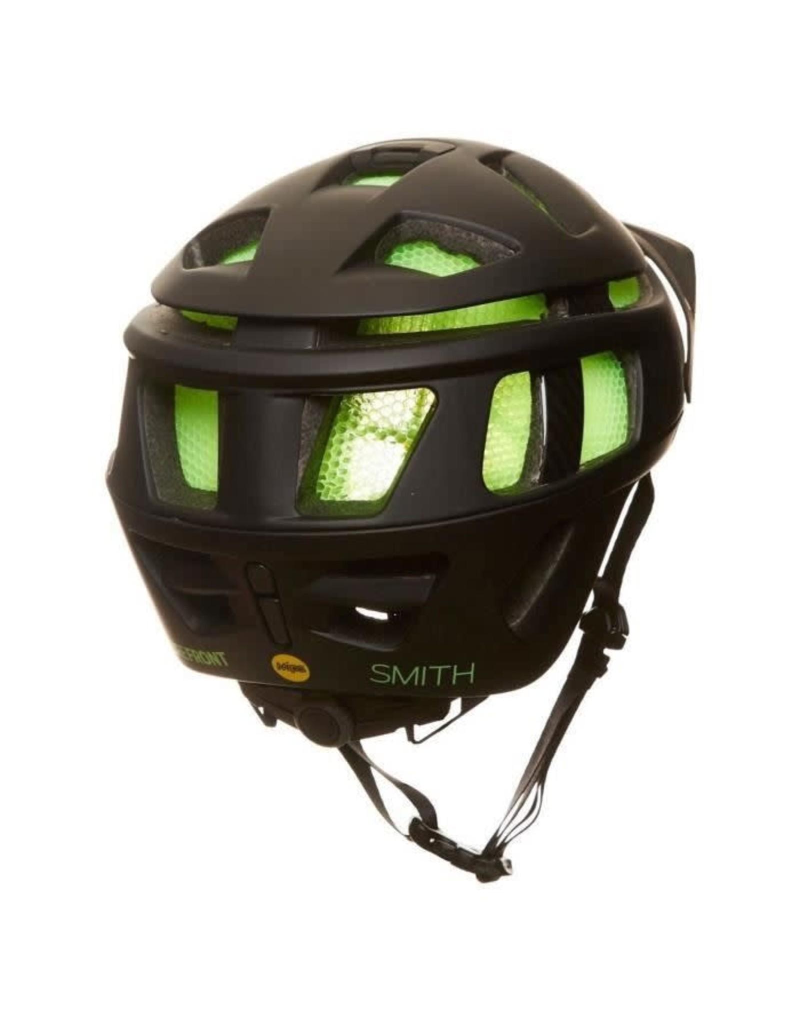 Smith Optics Forefront Helmet: Medium/Matte Black