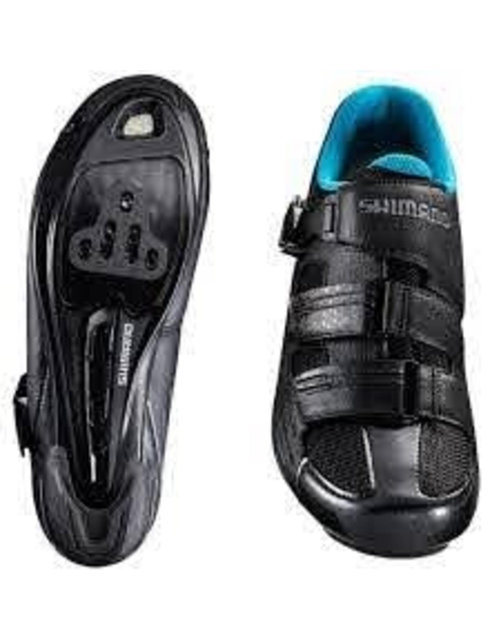 SH-RP3W Bicycle Shoes BLACK 39