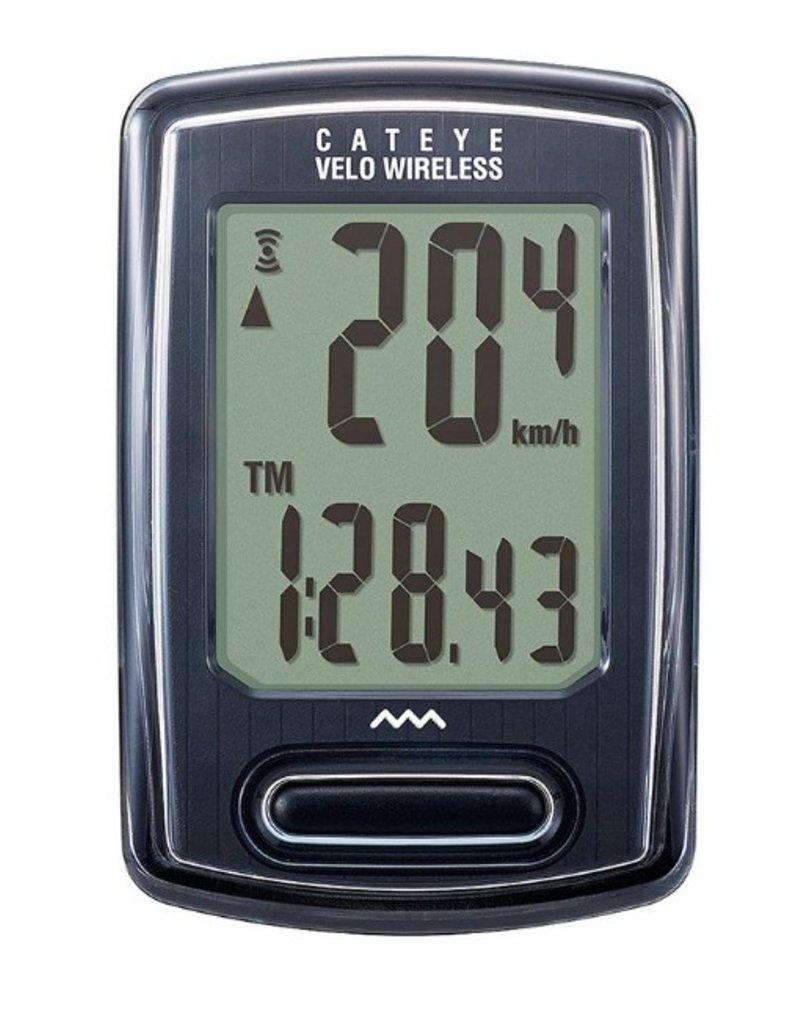 Cat Eye, Velo Wireless (Urbain), Cyclometre, Noir