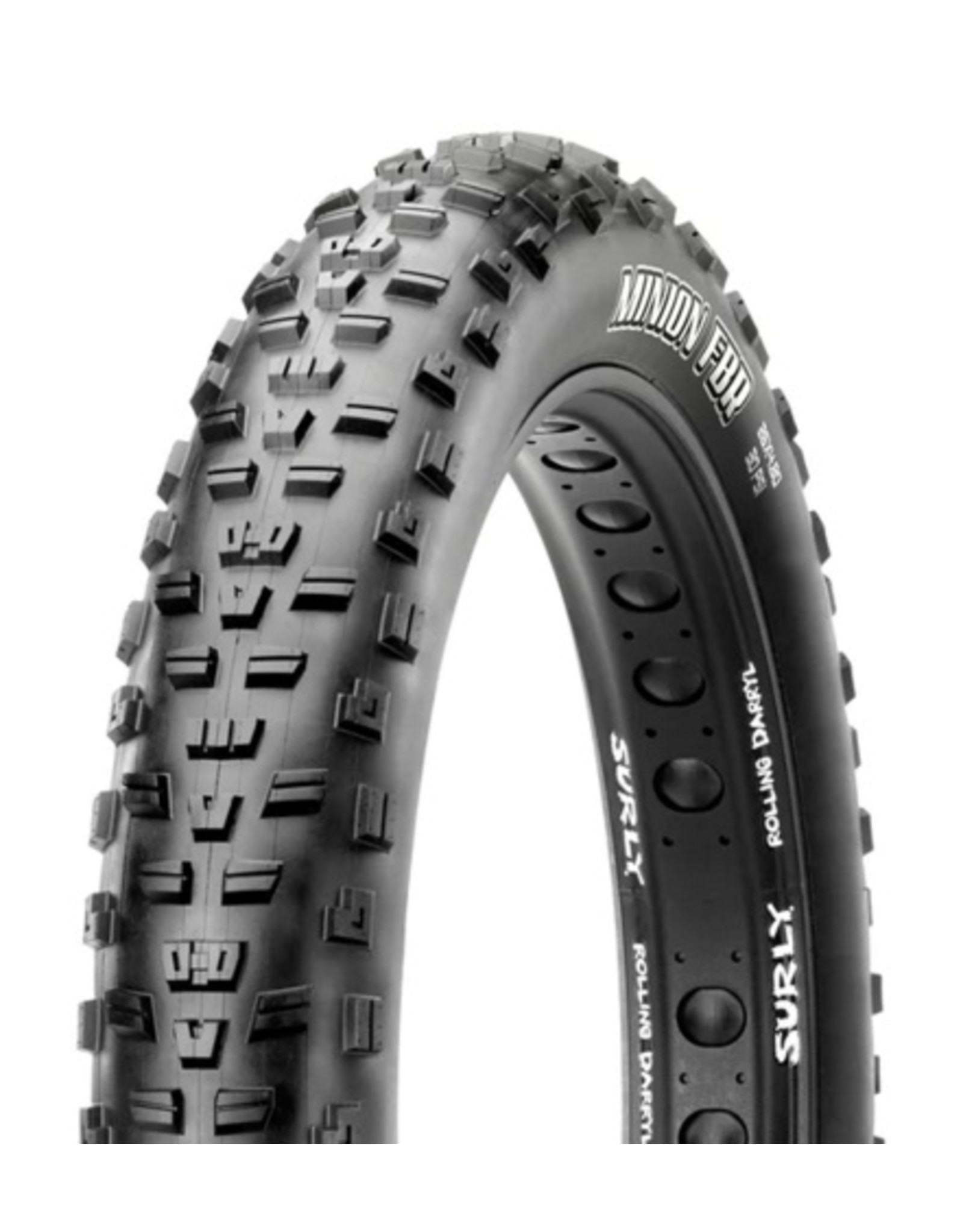 Maxxis Maxxis, Minion FBR, 26x4.80, Foldable, Dual, EXO, Tubeless Ready, 120TPI, Black