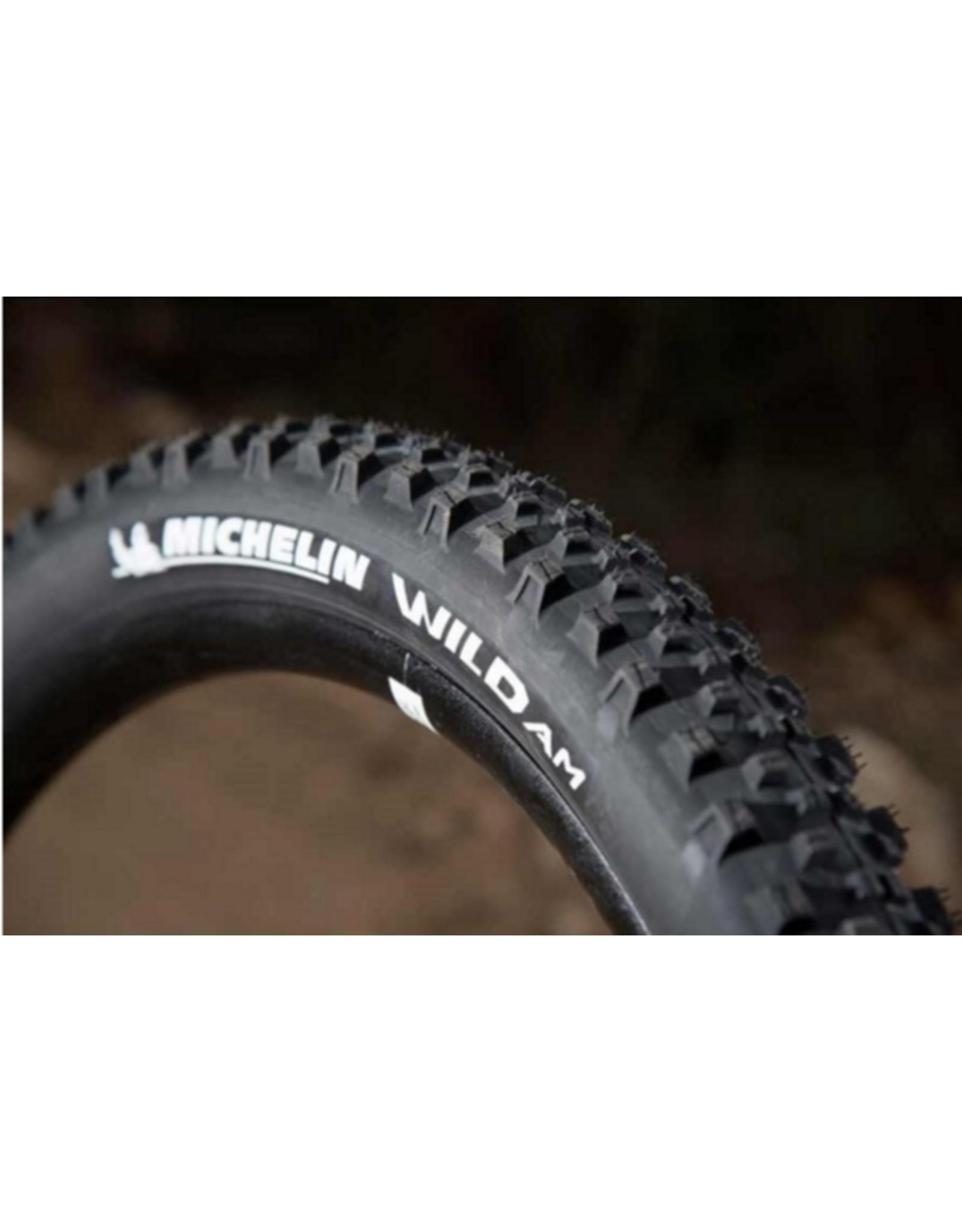 Michelin, Wild AM, 27.5''x2.35, Pliable, GUM-X, Noir