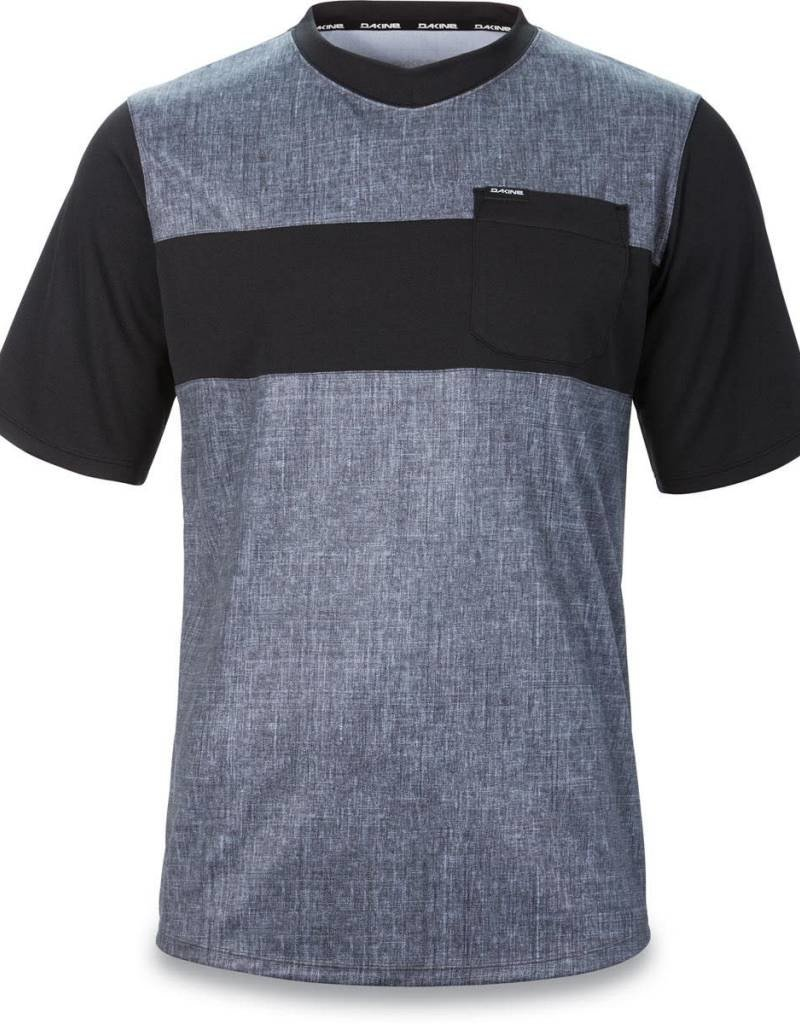 VECTRA S/S JERSEY CARBON / BLACK M