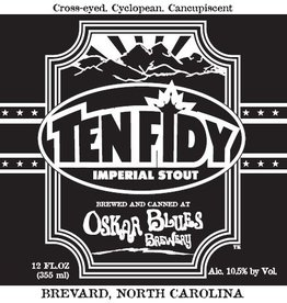 Oskar Blues 'Ten Fidy' Imperial Stout 12oz (Can)