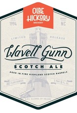 Olde Hickory Brewery 'Wavell Gunn' Scotch Ale aged in Highland Scotch Barrels 22oz
