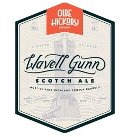 Olde Hickory 'Wavell Gunn' Scotch Ale aged in Highland Scotch Barrels 22oz