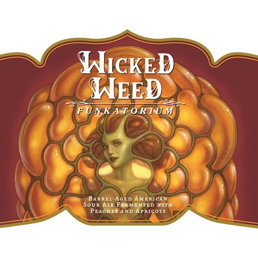 Wicked Weed 'Marina' Barrel-aged Sour Ale 500ml