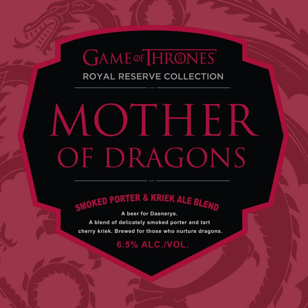 Ommegang 'Mother of Dragons' Smoked Porter & Kriek Ale Blend 750ml