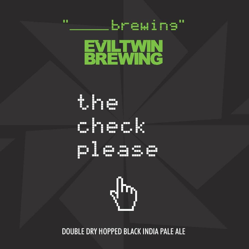 Blank Brewing x Evil Twin 'The Check Please' 12oz (Can)