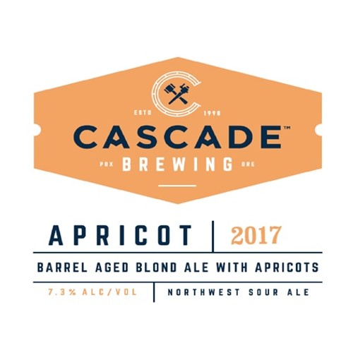 Cascade 'Apricot - 2017' Barrel-aged Sour Blond Ale 500ml