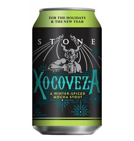 Stone Brewing 'Xocoveza' Winter-Spiced Mocha Stout 12oz (Can)