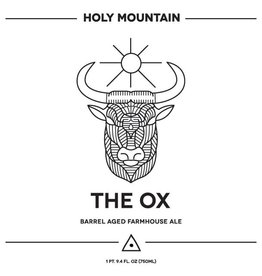 Holy Mountain 'The Ox'  Oak Fermented Saison w/ Orange Zest 750ml